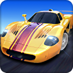 Sports сar racing ícone