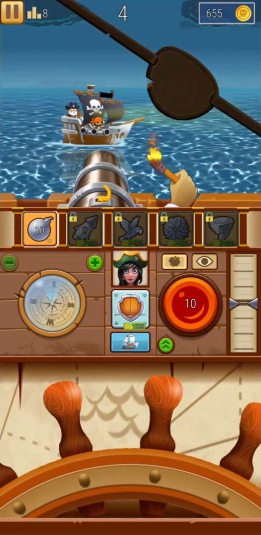 Pirate Bay - action pirate shooter. Aim and shoot captura de pantalla 1