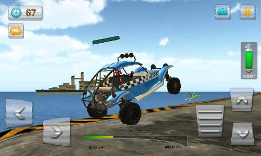 Buggy stunts 3D: Beach mania para Android