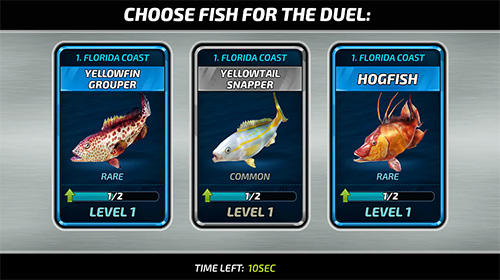 Fishing clash: Catching fish game. Hunting fish 3D для Android