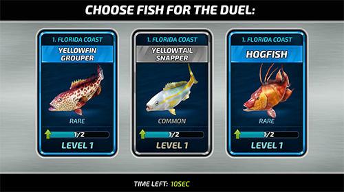 Fishing clash: Catching fish game. Hunting fish 3D para Android