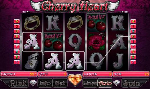 Cherry heart slot en français