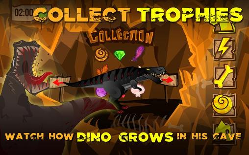 Dino the beast: Dinosaur game für Android
