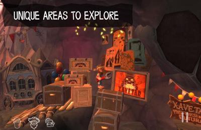 Jogos de arcade: faça o download de A Caverna para o seu telefone