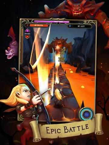 Battle quest: Rise of heroes для Айфону