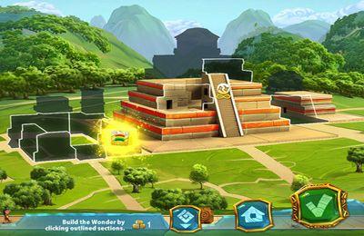 Скриншот 7 чудес Света: Реконструкция древними Инопланетянами на Айфон