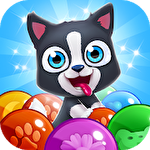 Pet paradise: Bubble shooter icône