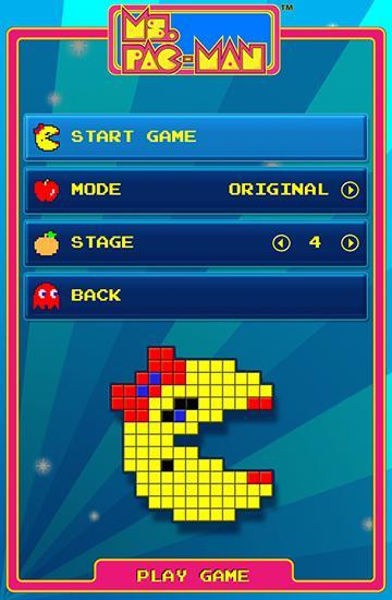 Arcade-Spiele Ms. Pac-Man by Namco für das Smartphone