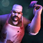 Scary butcher 3D Symbol