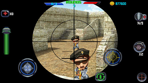 Shooter Gun shoot war Q auf Deutsch