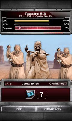Juegos de cartas de mesa Star Wars Force Collection en español