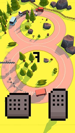 Arcade Risky road für das Smartphone