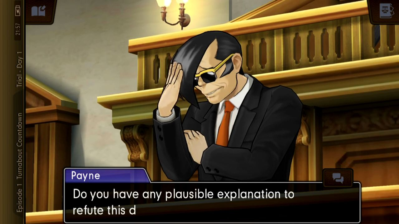 Ace Attorney: Dual Destinies スクリーンショット1