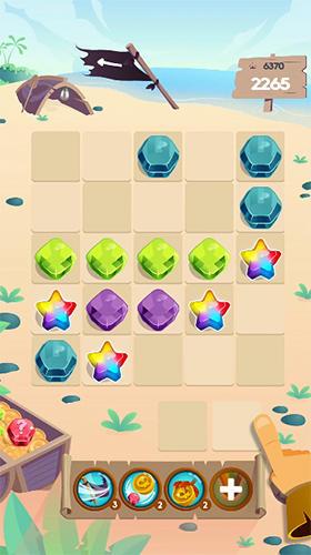 3 Gewinnt-Spiele Windpi gems puzzle auf Deutsch