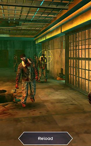 Dead city: Zombie shooting offline скриншот 1
