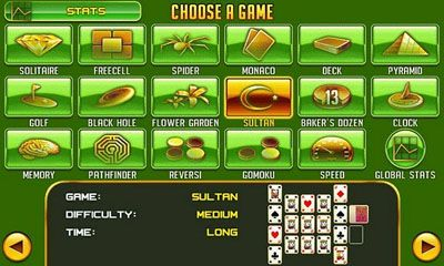 Platinum Solitaire 3 for Android