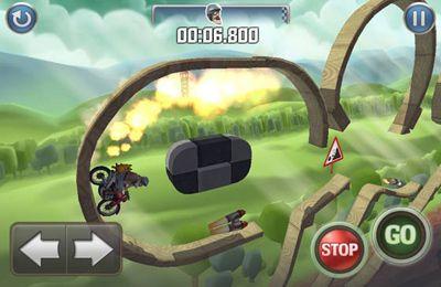 截图自行车男爵在iPhone