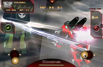 Battle 3D: Robots Sky for iPhone