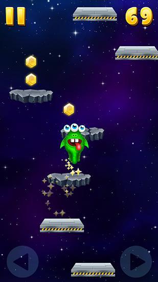 Monster jump: Galaxy für Android