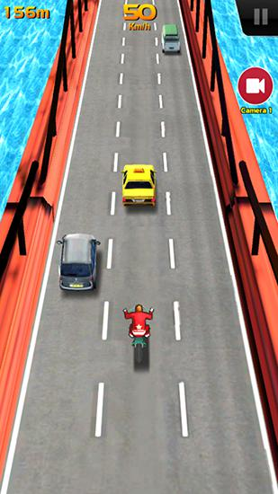 Track racing games Speed buster: Motor mania in English