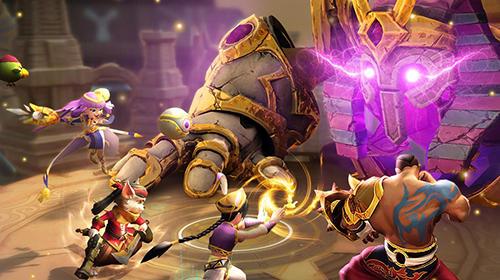 策略RPG Aladdin: Lamp guardians英语