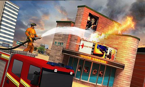 Simulation American firefighter 2017 für das Smartphone