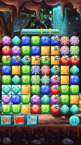 Elemental jewels: Match 3 game Screenshot