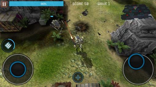 Actionspiele Dead gears: The beginning für das Smartphone