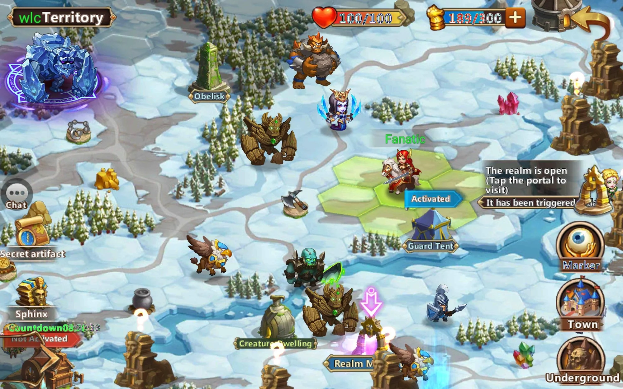 Android用 Might & Magic Heroes: Era of Chaos