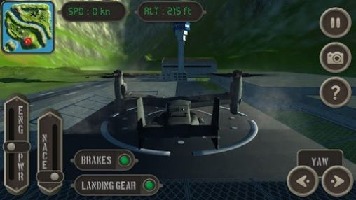 V22 Osprey: Flight simulator for Android