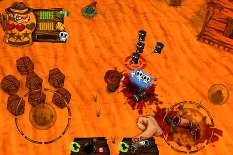 Komplett saubere Version Cowboy vs. Ninja vs. Aliens ohne Mods Shooter