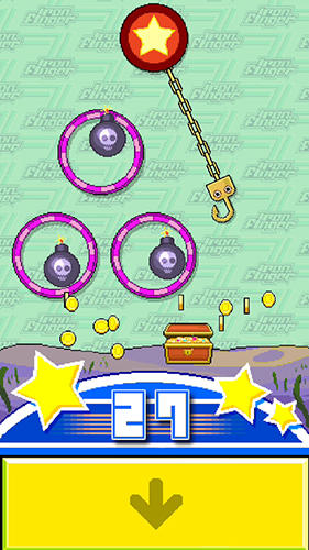 Iron finger: Arcade mini game Screenshot
