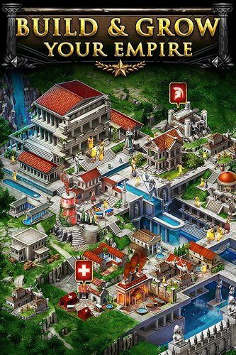 Game of war: Fire age for Android