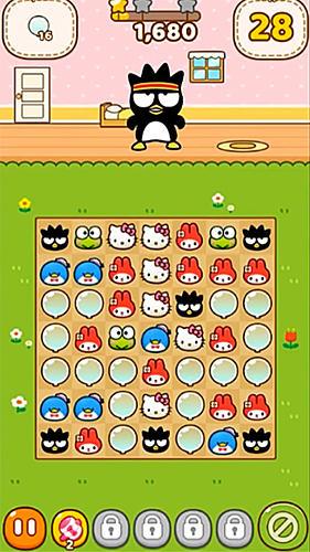 Arcade-Spiele Hello Kitty friends für das Smartphone