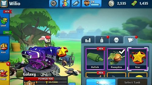 PvPets: Tank battle royale en russe