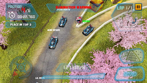 Mini motor racing WRT para Android
