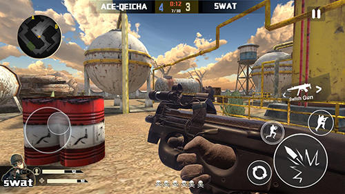 Counter terrorist: Sniper hunter für Android