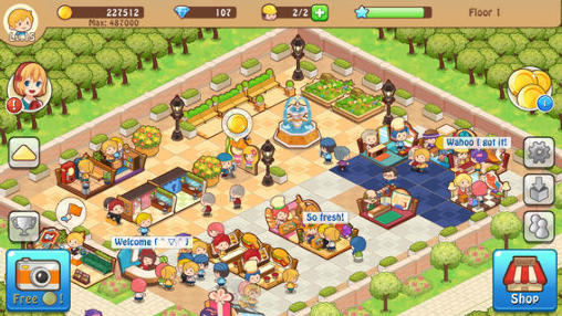 Happy mall story: Shopping sim für Android
