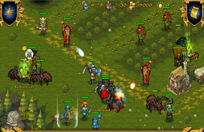 Strategy games: download Majesty: The Fantasy Kingdom Sim to your phone