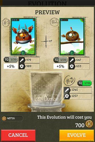 Screenshot Lord der Dummen auf dem iPhone