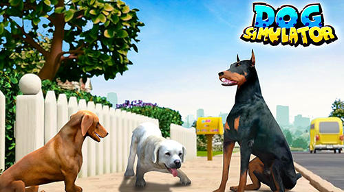 Иконка Pet dog games: Pet your dog now in Dog simulator!