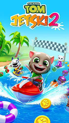 Capturas de tela de Talking Tom jetski 2