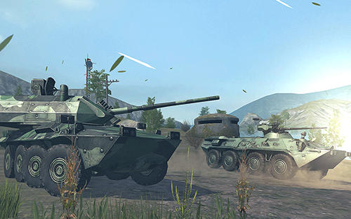 Tank force: Real tank war online captura de pantalla 3