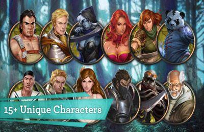 Kampfspiele: Lade Legenden von Chaos auf dein Handy herunter