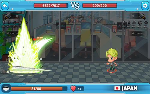 Arcade Dice empire: Fighting boss für das Smartphone