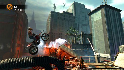 Screenshot Urban Trial Freestyle auf dem iPhone