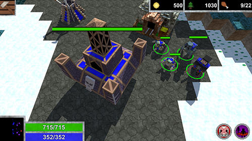 Blocky story: War craft pour Android