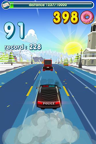 Polizei-Spiele Hunger cops: Race for donuts auf Deutsch