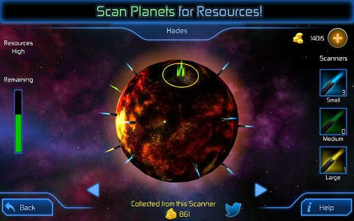 Weltraumspiele Interstellar defense auf Deutsch