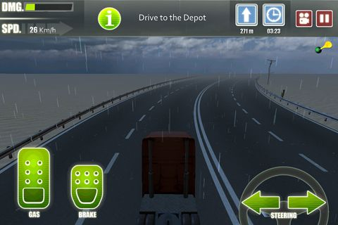 Truck driver 3 for iPhone